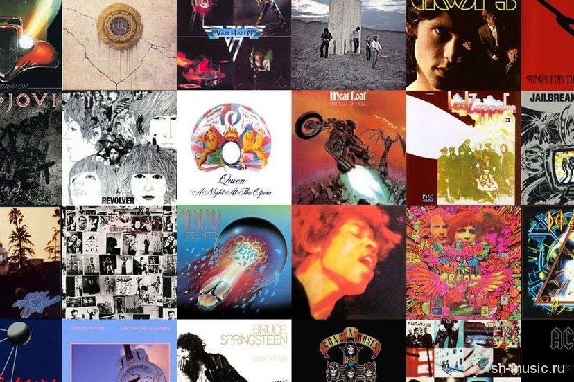 100 лучших барабанных рок альбомов