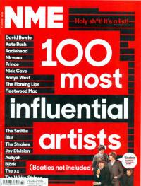 100 наиболее значимых исполнителей
